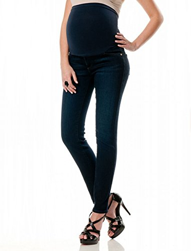 Belly Envy Sexy Empress Dark Denim Maternity Skinny Jeans
