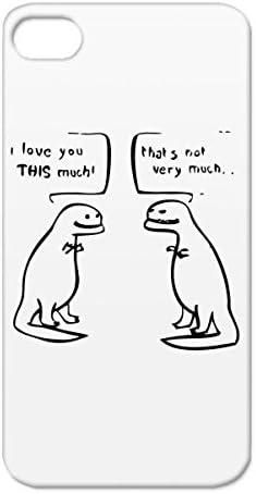 T Rex Love Cartoon Funny Art Parody Humor Design Satire Comic