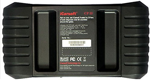 iCarsoft CP II for Peugeot / Citroen NEW VERSION professional diagnostic tool scanner - PLUS FREE ANTI-SLIP PAD ($10 Value) by iCarsoft (Image #1)