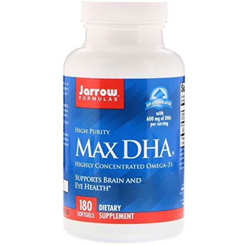 Jarrow Formulas, Max DHA, 180 - Softgel Dha Formula