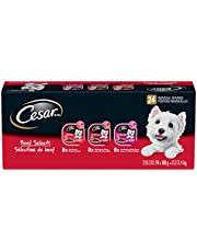 CESAR Classic Loaf in Sauce Wet Dog Food Beef Selects Variety Pack, 24x100g Trays