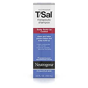 Neutrogena T/Sal Therapeutic Shampoo, Scalp Build-Up Control 4.5 oz (Pack of 6)