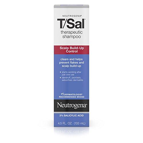 Control Shampoo (Neutrogena T/Sal Shampoo Scalp Build-Up Control, 4.5 Fl Oz (pack of 6))