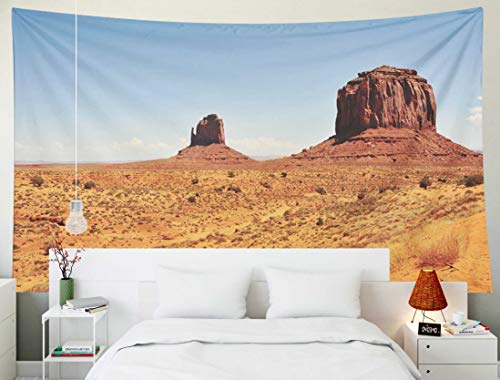 (TOMWISH Tapestry Wall Hanging, Tapestries Decoration Hanging Wall Bedroom and Home Décor Dorm Valley is a Region of The Colorado Plateau characterized by Cluster vast Sandstone 80x60 Inch)