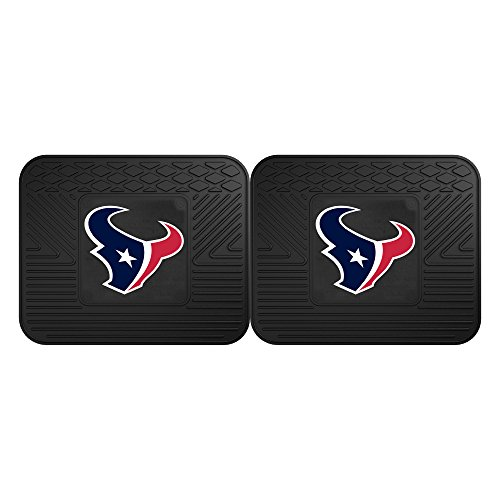 - Fanmats 12363 NFL Houston Texans Rear Second Row Vinyl Heavy Duty Utility Mat, (Pack of 2)