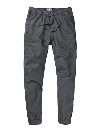 Match Men's Loose Fit Chino Jogger Pant (34,6054 Dark Gray)