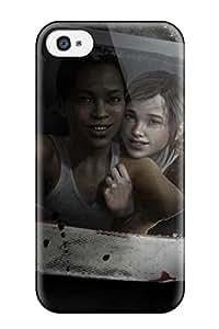 Viktoria Metzner's Shop premium Phone Case For Iphone 4/4s/ The Last Of Us Left Behind Tpu Case Cover