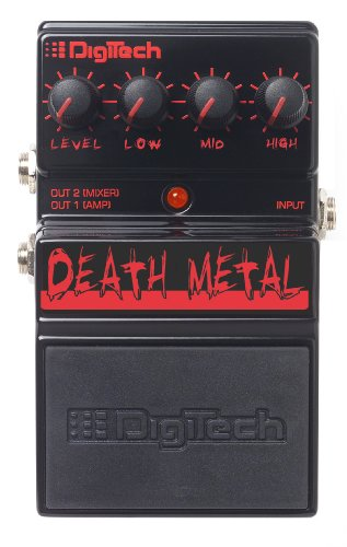 Digitech DDM Death Metal Analog Distortion Pedal