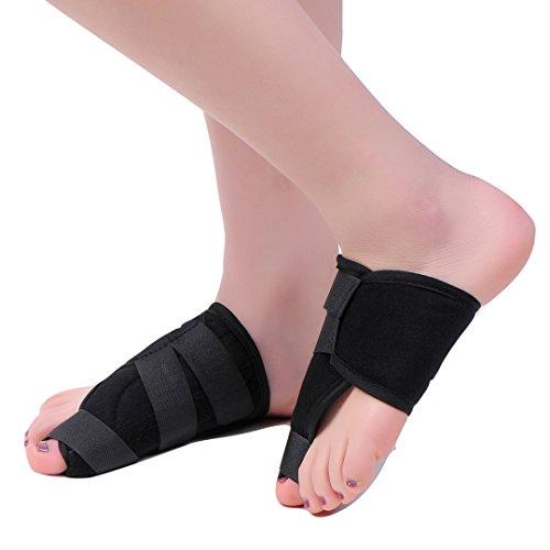 MEDIZED Quality Bunion Splint Pad Toe Hammer Separators Hallux Valgus Protector Bunion Corrector bunion Pads Toe Spacer Bunion Splint Straightener Bunion Bootie by MEDIZED (Image #5)