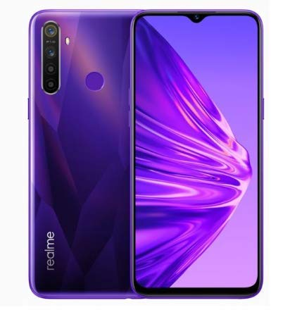 Smartphone Realme 5-128GB and 4GB RAM - Versão Global - Crystal Purple