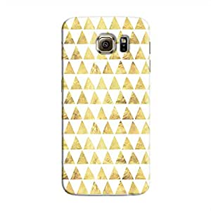 Cover It Up - Gold White Triangle Tile Galaxy Note 5 Hard Case