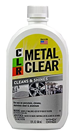 Amazon.com: CLR MC-12 Metal Clear, 12 oz. Bottle: Industrial ... on kohler kitchen and bath, ge kitchen and bath, lysol kitchen and bath, case kitchen and bath,