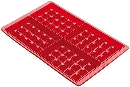 Lékué- Kit para elaborar gofres, dos unidades, color rojo: Amazon ...