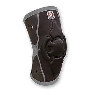 Brute Torq Wrestling Knee Pad - SIZE: XX-Large, COLOR: Black/Grey