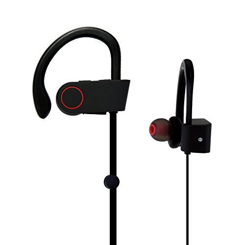 bluetooth earbuds oxoqo in ear sport headphones best with mic wireless earphones ipx4. Black Bedroom Furniture Sets. Home Design Ideas