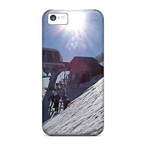 New Snap-on Oilpaintingcase88 Skin Cases Covers Compatible With Iphone 5c- Steep