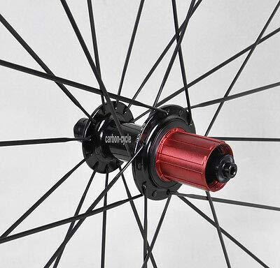 FidgetGear Sapim cx-Ray - Ruedas tubulares de Carbono para Bicicleta de Carretera (700