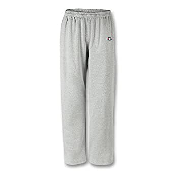 REVERSE WEAVE OPEN BOTTOM PANT WITH POCKETS (P2050) - Oxford Gray - 3XL