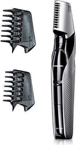 Panasonic ER-GK60-S503 – Recortadora de Barba y Precisión 3 en 1 (Recargable, Forma de Navaja, i-Shaper, 3 accesorios…