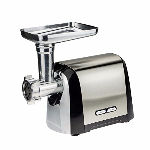 ULTRA 1200 Watt Electric Meat Grinder & Sausage Stuffer Kit,Home Food Mincer Meat Grind Steel with 3 Grinding Plates