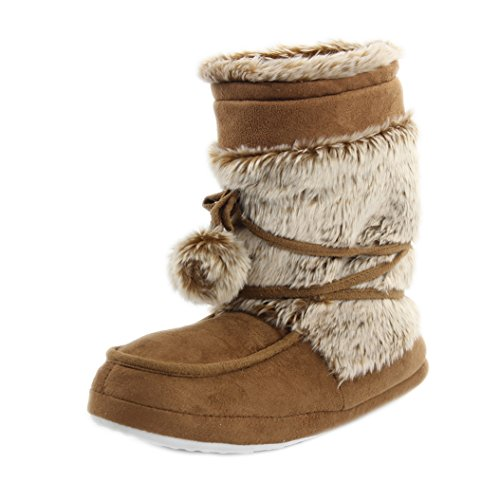 House Slipper Slipper Home Boots Indoor Furry Soft Women's Shoes Khaki Plush Warm 0RqYUR