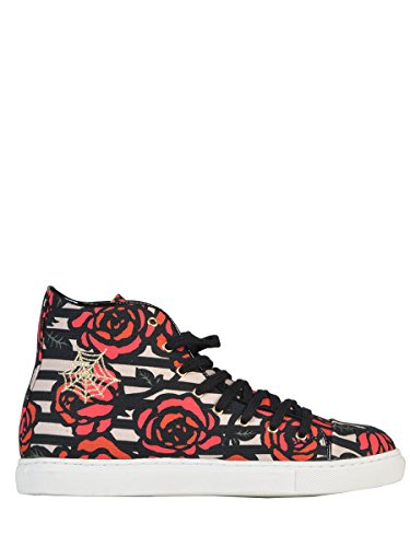 CHARLOTTE OLYMPIA FEMME V009445CAN912 MULTICOLORE CUIR BASKETS MONTANTES