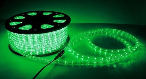 50' ft 2 Wire LED Rope Light Home Outdoor Christmas Light...