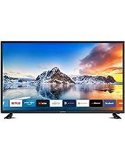 DYON Smart 43 XT 108 cm (43 inch) televisie Full HD Smart TV, HD Triple Tuner (DVB-C/-S2/-T2), Prime Video, Netflix & HbbTV) [modeljaar 2020]