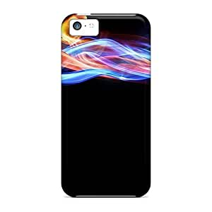 High Grade Finleymobile77 Cases For Iphone 5c - Colorful Smoke 03