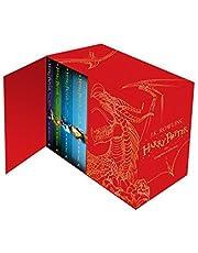 مجموعة صندوق هاري بوتر: المجموعة الكاملة (ظهر صلب للأطفال)