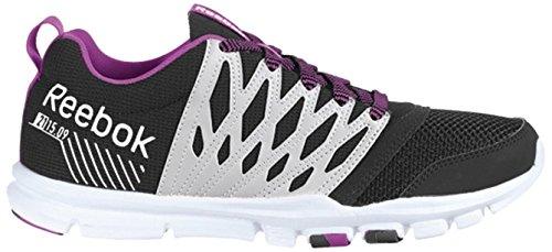 1f17ca954 Reebok Yourflex Trainette RS 5 Zapatillas de Cross Training, Mujer, Negro/ Blanco/Morado, 40: Amazon.es: Zapatos y complementos
