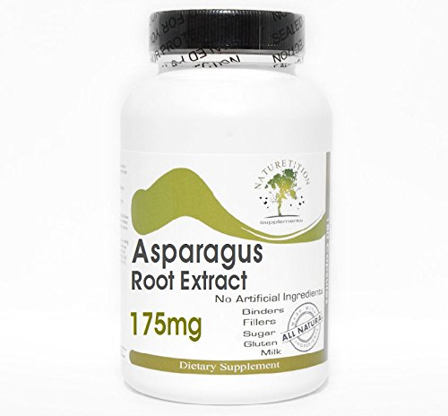 Asparagus Root Extract 175mg ~ 90 Capsules - No Additives ~ Naturetition Supplements