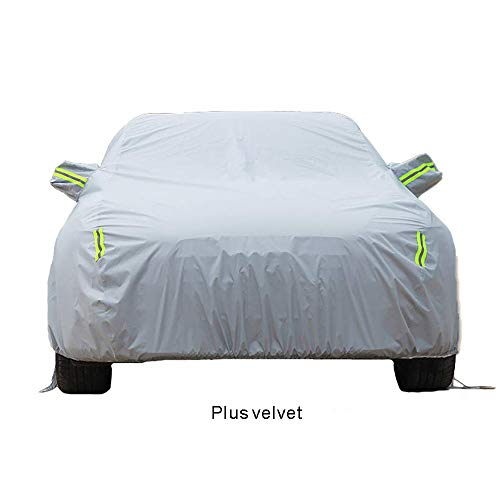 Car Cover GLP Fully Waterproof Anti UV Sun is for Aston Martin V12 Vantage 6.0L S Coupe/Roadster, 6.0L S/Roadster/Manual Coupe, Oxford Cloth/Cotton Lining All Weather Durable Protective Shield ()