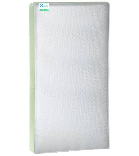 Sealy Cozy Cool Hybrid 2-Stage Coil and Gel Crib Mattress by Sealy