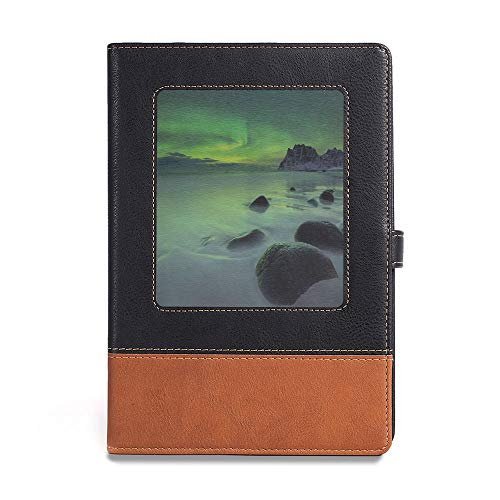 - Soft Cover Notebook,Northern Lights,A5(6.1
