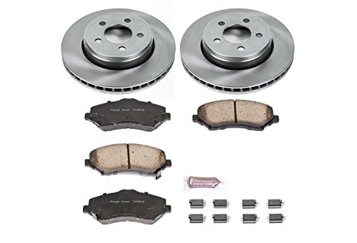 Autospecialty KOE1631 1-Click OE Replacement Brake - Centric Jeep Liberty Brake