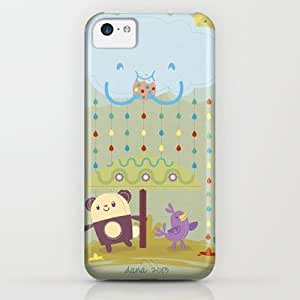 Color Raindrops Keep Falling On My Head iPhone & iphone 5c Case by Danvinci