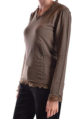Galliano Femme MCBI130041O Marron Polyamide Top