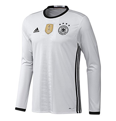 adidas Germany Home Long Sleeve Jersey (Mens) (S) Adidas Reversible Mesh Jersey