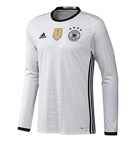 adidas Germany Home Long Sleeve Jersey (Mens) (M) (Fantastic Long Sleeve Jersey)