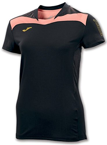 T-Shirt Femme FREE JOMA Noir / Saumon Black