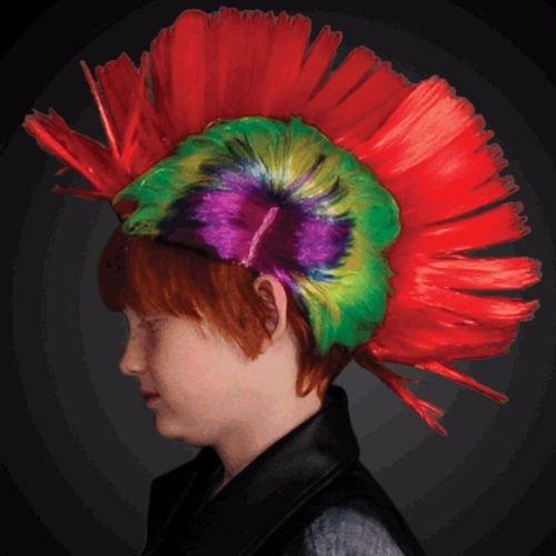 blinkee Punk Rock LED Mohawk Wig by