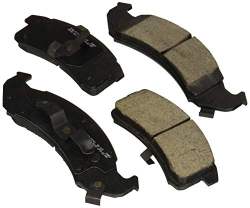 Bosch BC623 QuietCast Premium Ceramic Disc Brake Pad Set For Select Buick LeSabre, Park Avenue; Cadillac Seville; Chevrolet Camaro, Lumina; Oldsmobile Aurora, Regency; Pontiac Firebird + More; Front ()