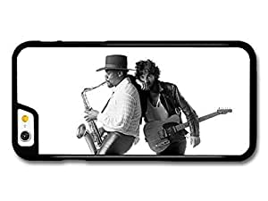 AMAF ? Accessories Bruce Springsteen and Clarence Clemons Saxophone Black and White case for iPhone 6