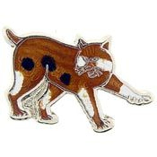 EagleEmblems P00213 Pin-Cat,Bobcat (1'')
