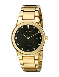 Citizen Men's AU1062-56G Axiom Analog Display Japanese Quartz Gold Watch