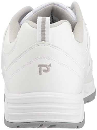 M5500 Propet Blanc Homme Pour Sangle Chaussures Warner rrfxgv