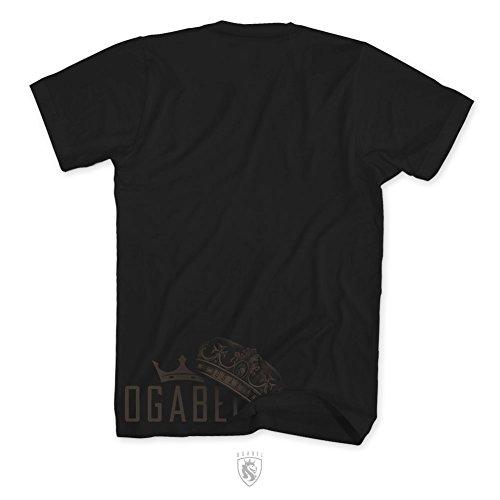 OGABEL Men's Fierce SS T Shirt Black