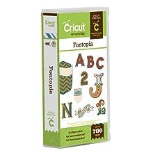 Cricut Fontopia Cartridge