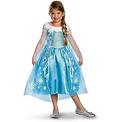 Disney's Frozen Elsa Deluxe Girl's Costume, 4-6X